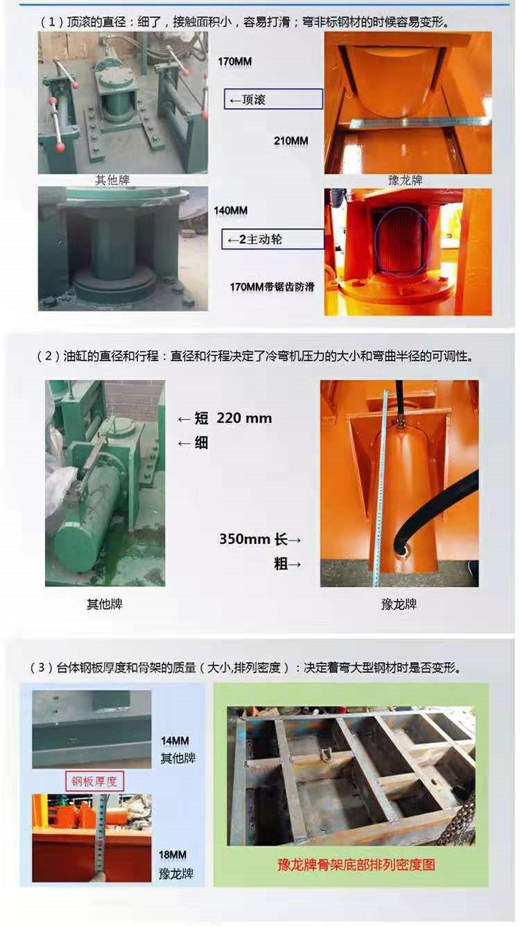 浙江衢州工字钢折弯机/槽钢弯曲机供货商