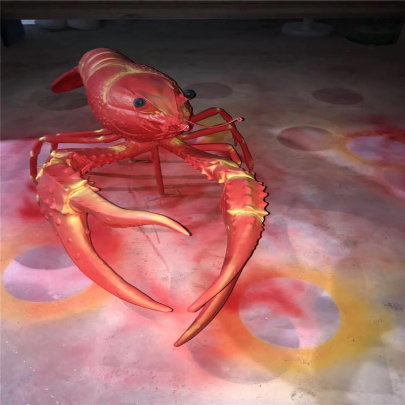 东莞玻璃钢仿真动物雕塑 彩绘小鱼造型雕塑 拍照美陈152718605