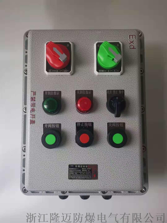 防爆动力配电箱ExdⅡCT4-铝合金(带防雨罩)953040805