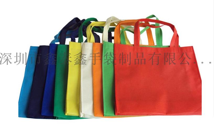 无纺布覆膜折叠手提环保袋100947215