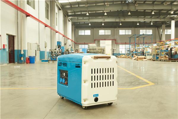 大泽动力静音5kw柴油发电机型号101614912
