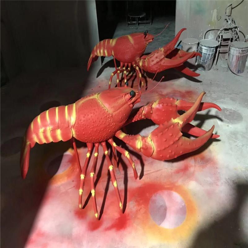 东莞玻璃钢仿真动物雕塑 彩绘小鱼造型雕塑 拍照美陈152718625