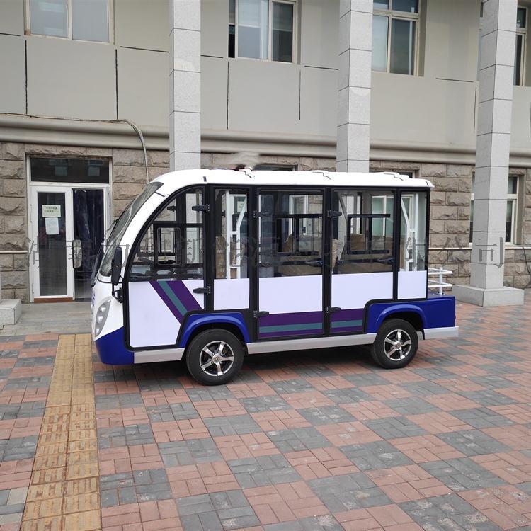 8座封闭式电动观光车,多功能电动四轮车812779042