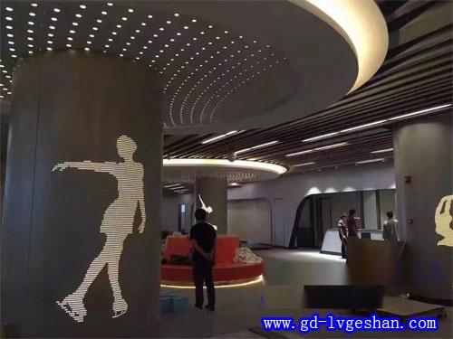 包柱镂空铝单板 吊顶包柱铝板造型 商场铝单板装饰贴图.jpg