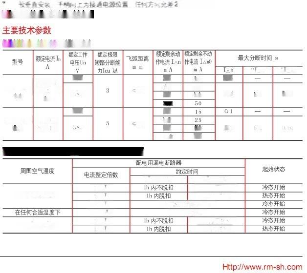 DZ15LE-40/2901 漏电断路器85305455