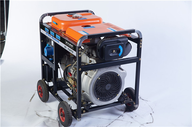 手推式6千瓦小型柴油附发电机107911422