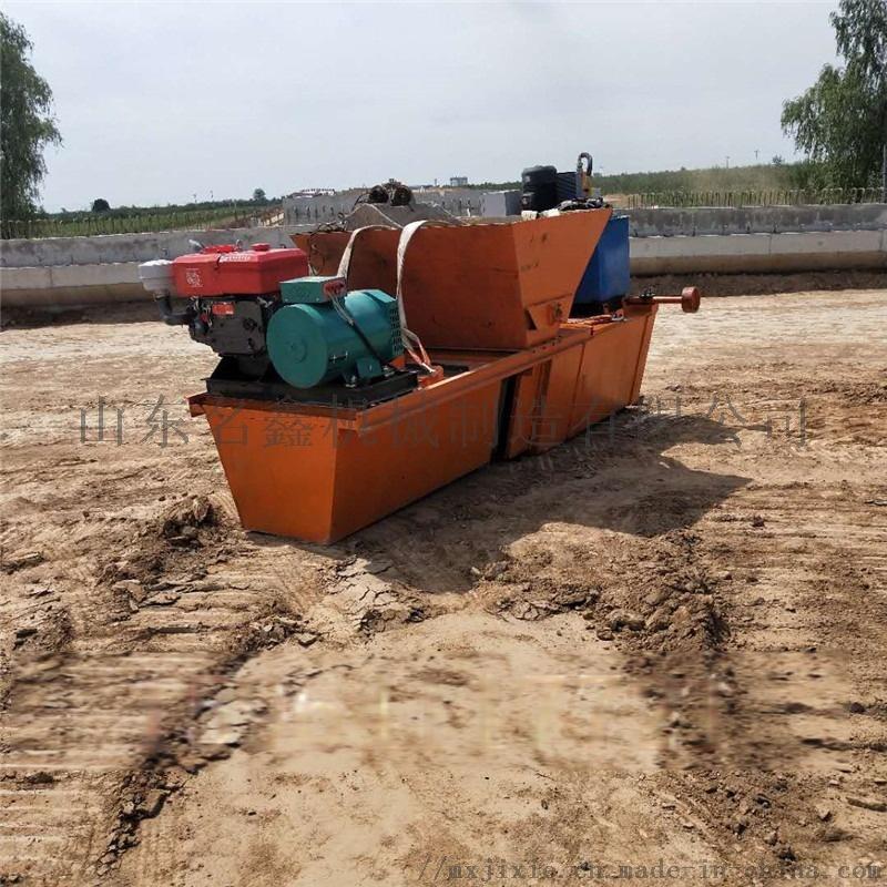 水渠成型机现场指导施工 一次成型液压水渠成型机107764802