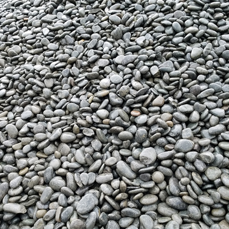 黑色鹅卵石3-5公分