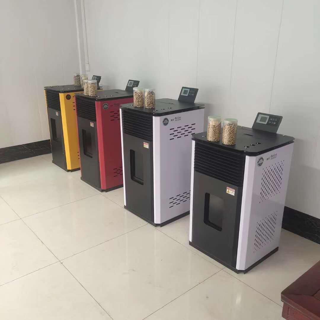 木屑颗粒取暖炉 恒美百特家用取暖炉水暖炉厂家851007472