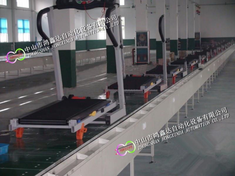 广州跑步机生产线健身器材装配线动感单车流水线809984715