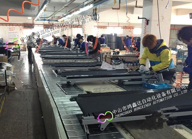 广州跑步机生产线健身器材装配线动感单车流水线809984725