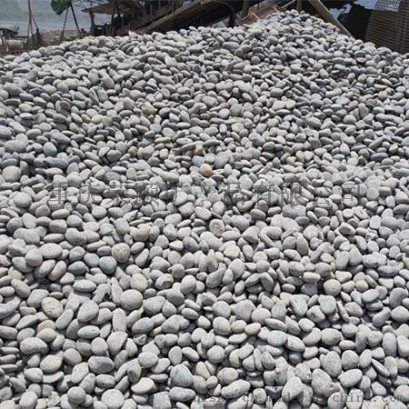 灰色鹅卵石5-8cm
