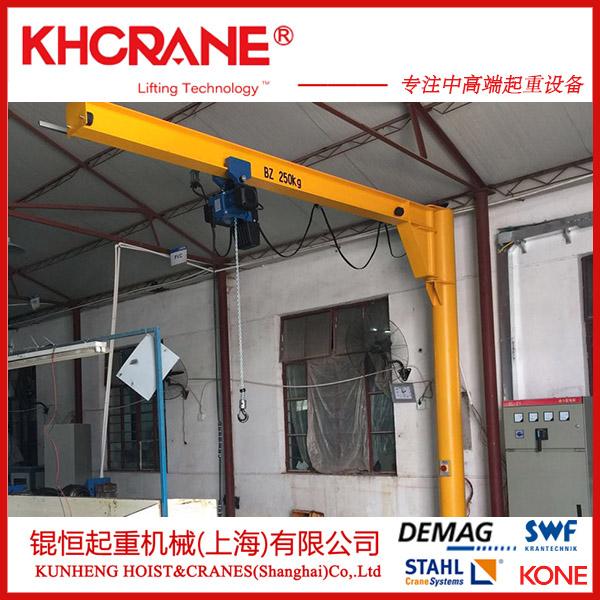 锟恒供应1T悬臂吊 2T移动悬臂起重机119595025
