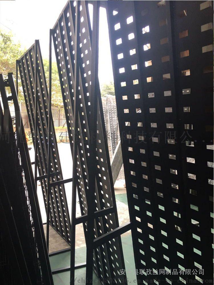 瓷砖冲孔板展架 黑色展示架849344692
