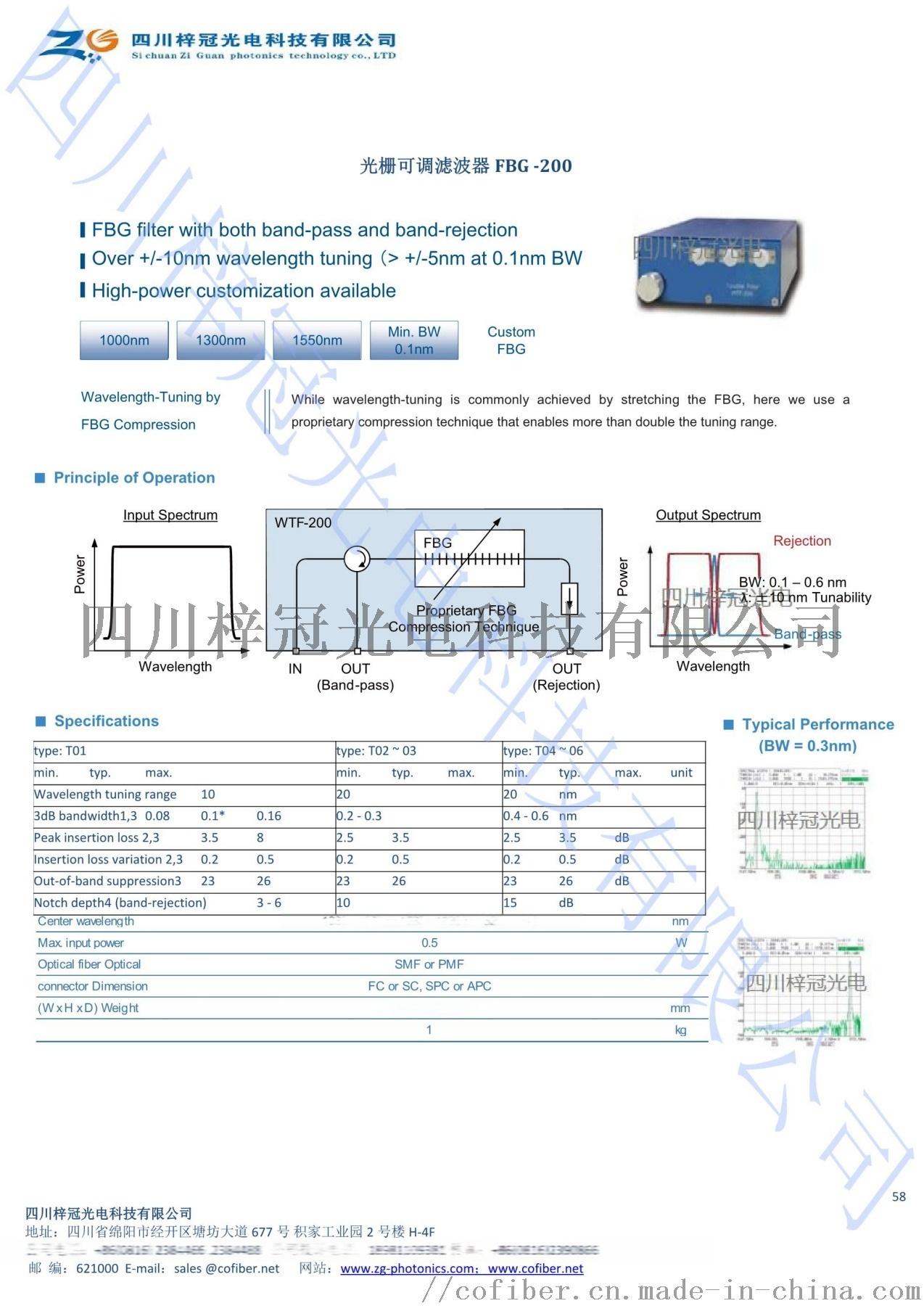 光栅可调滤波器FBG-200 1.jpg