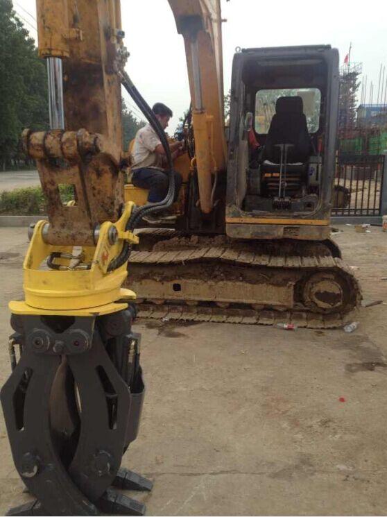 挖掘机抓木器 360度抓木机 旋转抓木 东奕机械厂57638425