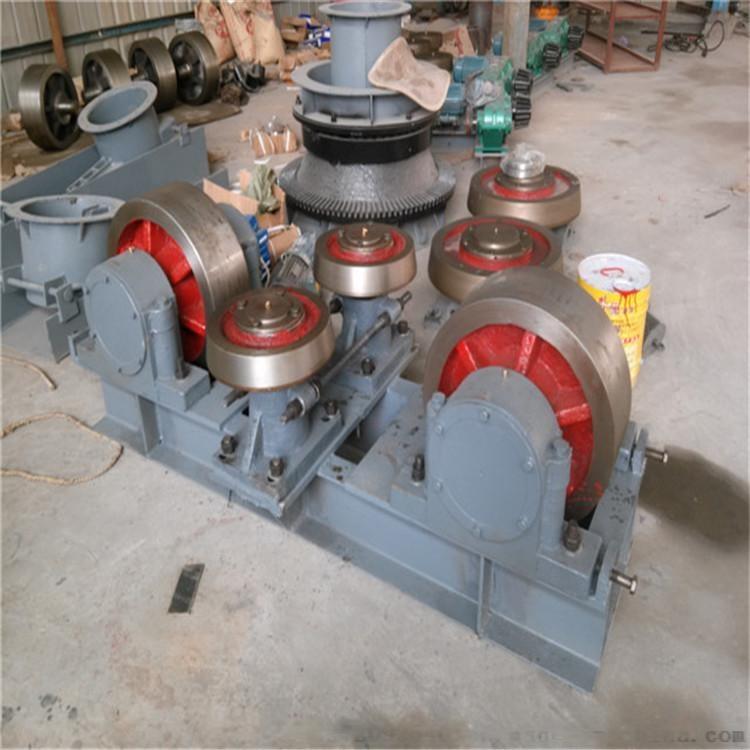 定制小型铸钢转轴式烘干机托轮147773275