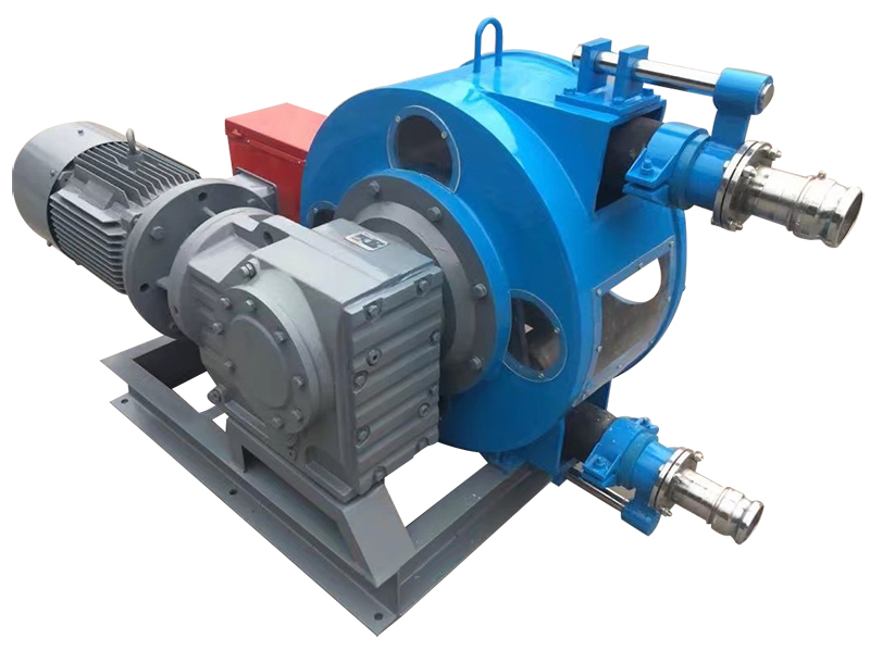 大流量工业软管泵价格 软管泵橡胶软管厂家直供