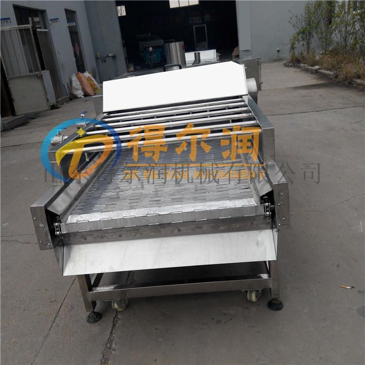 土豆莲藕漂烫预煮设备 豆角漂烫机 网带式漂烫线798275202