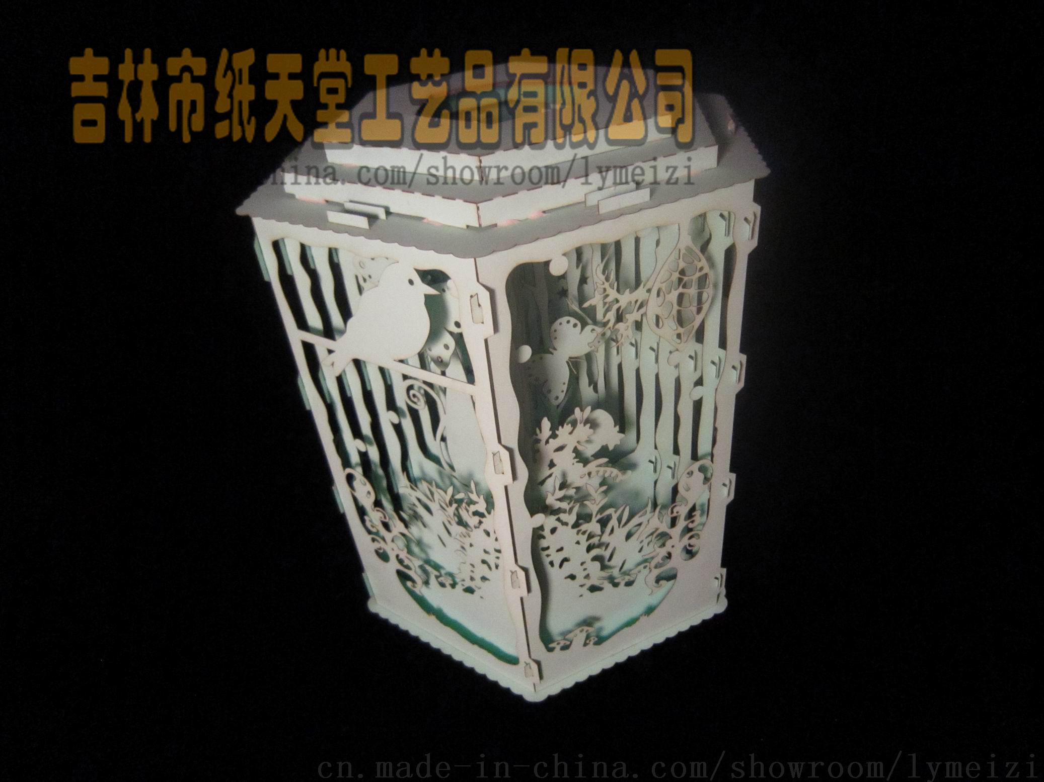 中国苗圃_立体贺卡建筑纸模型纸质工艺品创意礼物【价格,厂家,求购 ...