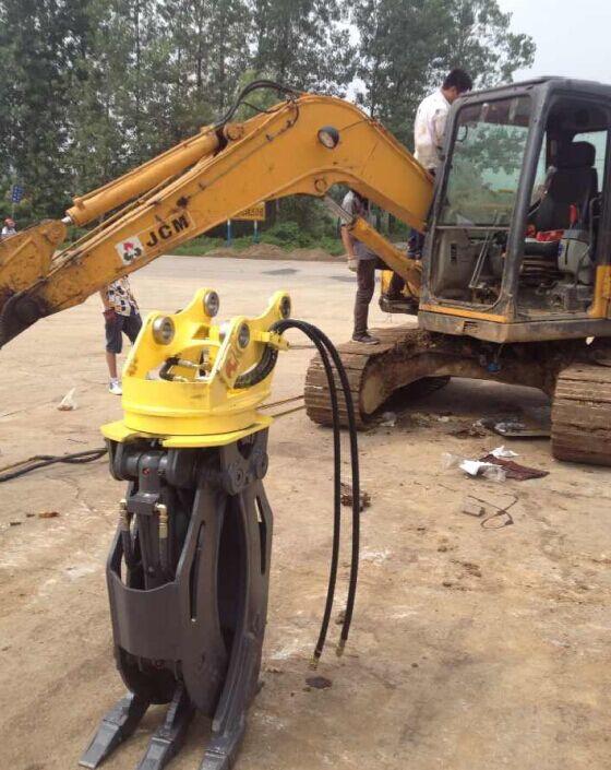 挖掘机抓木器 360度抓木机 旋转抓木 东奕机械厂57638445