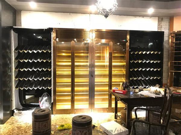 酒莊酒窖不鏽鋼酒櫃恆溫酒櫃定製廠家791674965