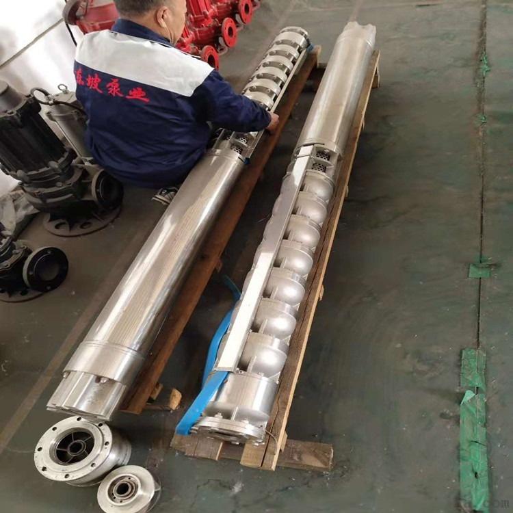 铸铁深井泵 潜水深井泵 耐高温潜水泵813140882