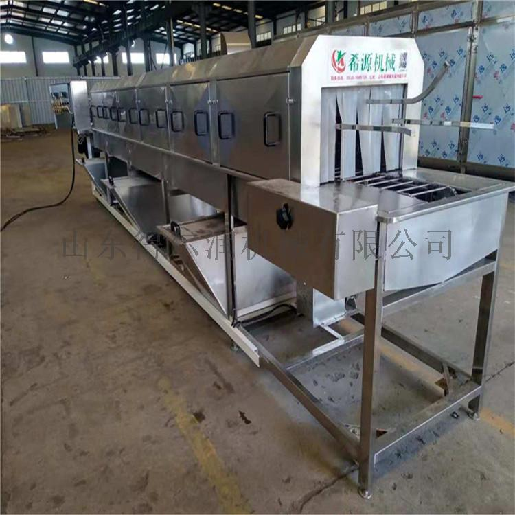 山東 高效率麪包烤盤清洗機 食品膠筐噴淋清洗烘乾機773771582