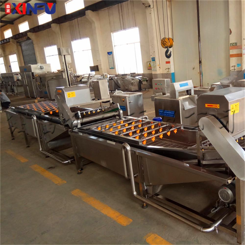 鑫富供应 蘑菇清洗机 菠菜清洗机 喷淋气泡清洗机97773472