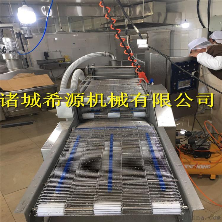 2020批量生产 全自动上浆裹糠机油炸机 上粉机120730772