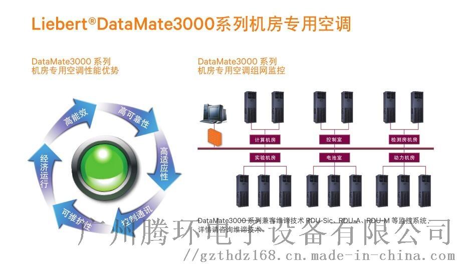 艾默生機房精密空調 維諦DME05MOP5 5.5KW加熱2P三相輸入104621395