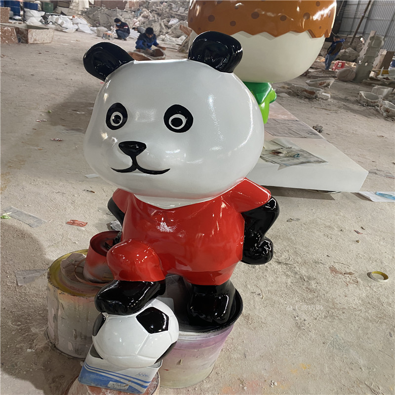 珠海早教中心卡通公仔雕塑 玻璃钢卡通雕塑幼儿园摆件154674495