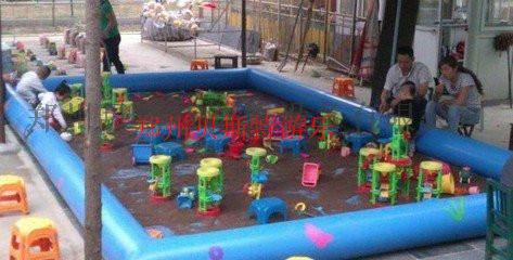河南儿童充气沙滩池决明子真好沙池740940912