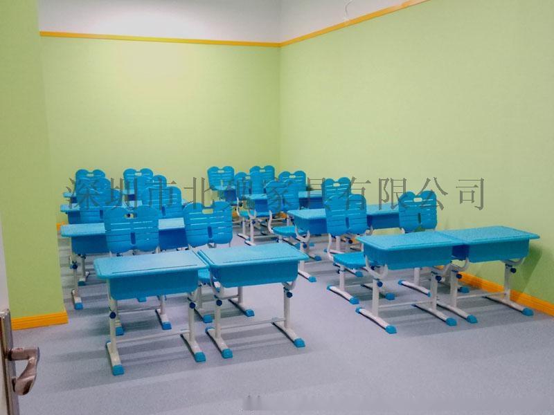 abs单人小学生塑料升降课桌椅厂家96077395