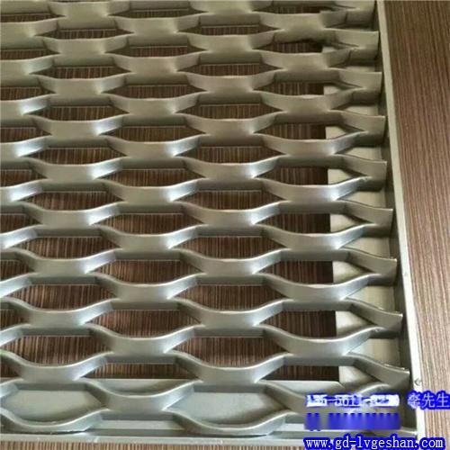 六角形网格铝板 铝板网孔形规格 铝板网图片