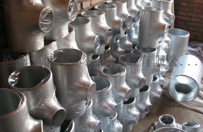 国标高压碳钢等径三通对焊大口径厚壁三通119155525