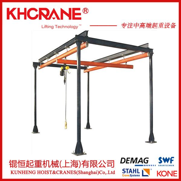 kbk柔性组合悬挂式起重机德马格电动葫芦欧式起重机863373775