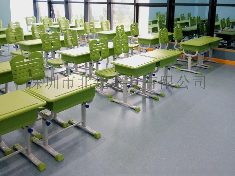 abs单人小学生塑料升降课桌椅厂家96077295