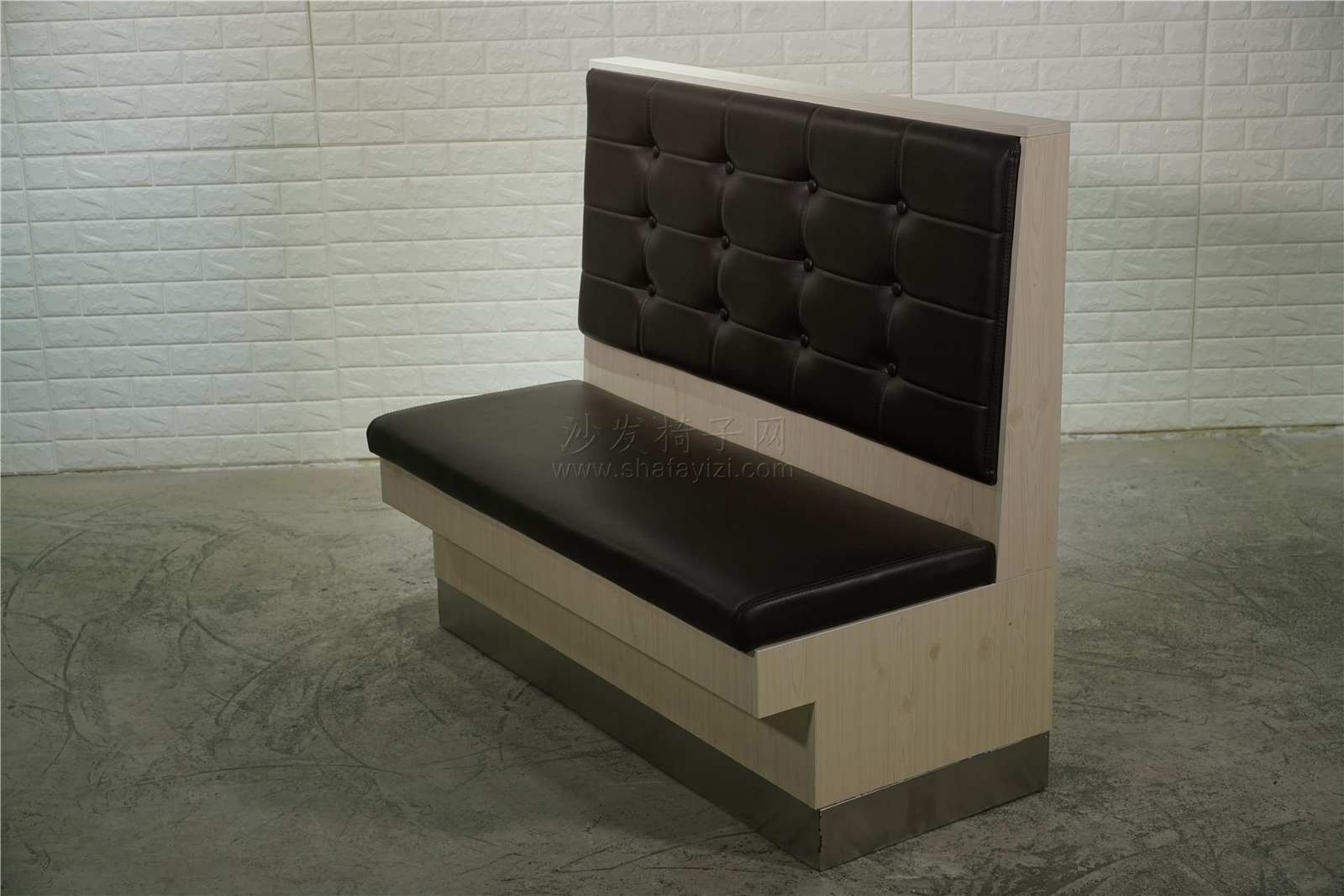 时尚主题火锅店卡座沙发定做91017235