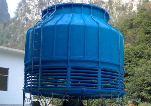 圆形逆流玻璃钢冷却塔  耐腐蚀抗氧化圆形冷却塔103352532