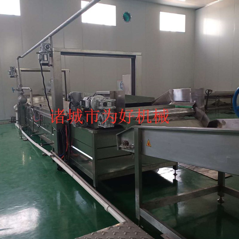 贵州花椒杀青线  蔬菜清洗机 杀青流水线设备126638062