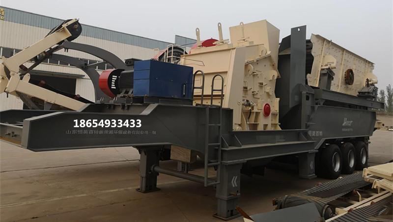 北京建筑垃圾再生利用设备 移动式青石破碎机价格88512112