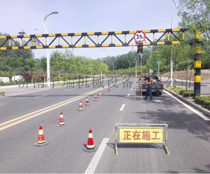 电动限高杆 道路交通用限高架 固定式升降限高杆118582802