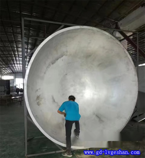 球面双曲铝单板 佛山双曲铝单板厂 圆形双曲铝板厂家