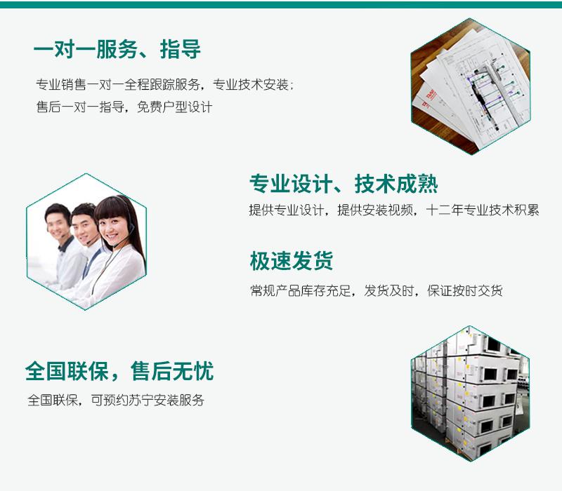 瑞能网咖火锅店商用新风系统 新风换气机 全热交换器106321432