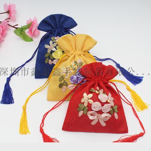 精美束口拉绳礼品珠宝首饰袋120349945