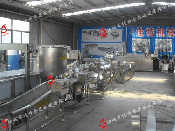 天津麻花油炸生产线 环保型油炸流水线30001302