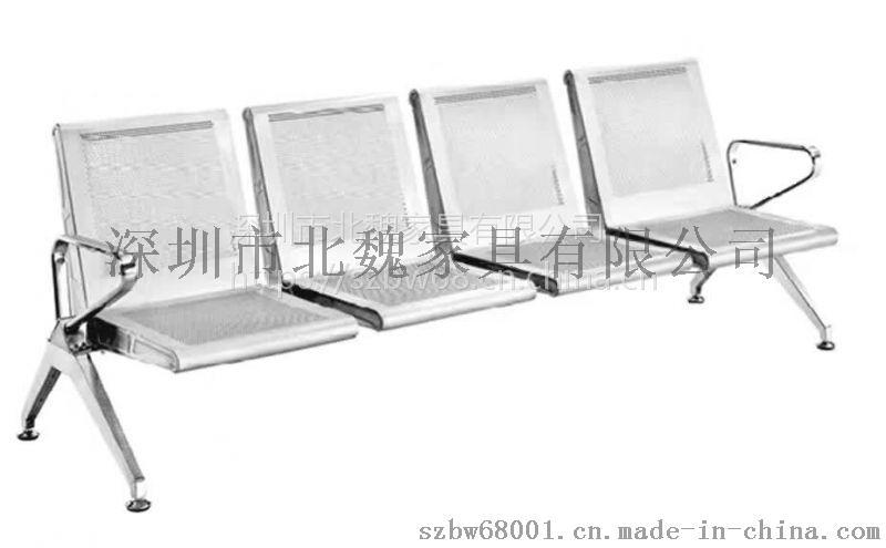 医院候诊排椅三座-医院用钢排椅图片-医院排椅-不锈钢排椅-连排椅-排椅744201805