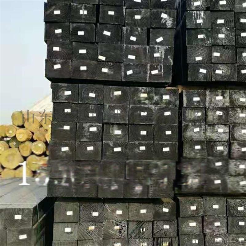 廠家直銷油浸枕木 鐵路道岔枕木 供應防腐樟子鬆枕木108947282