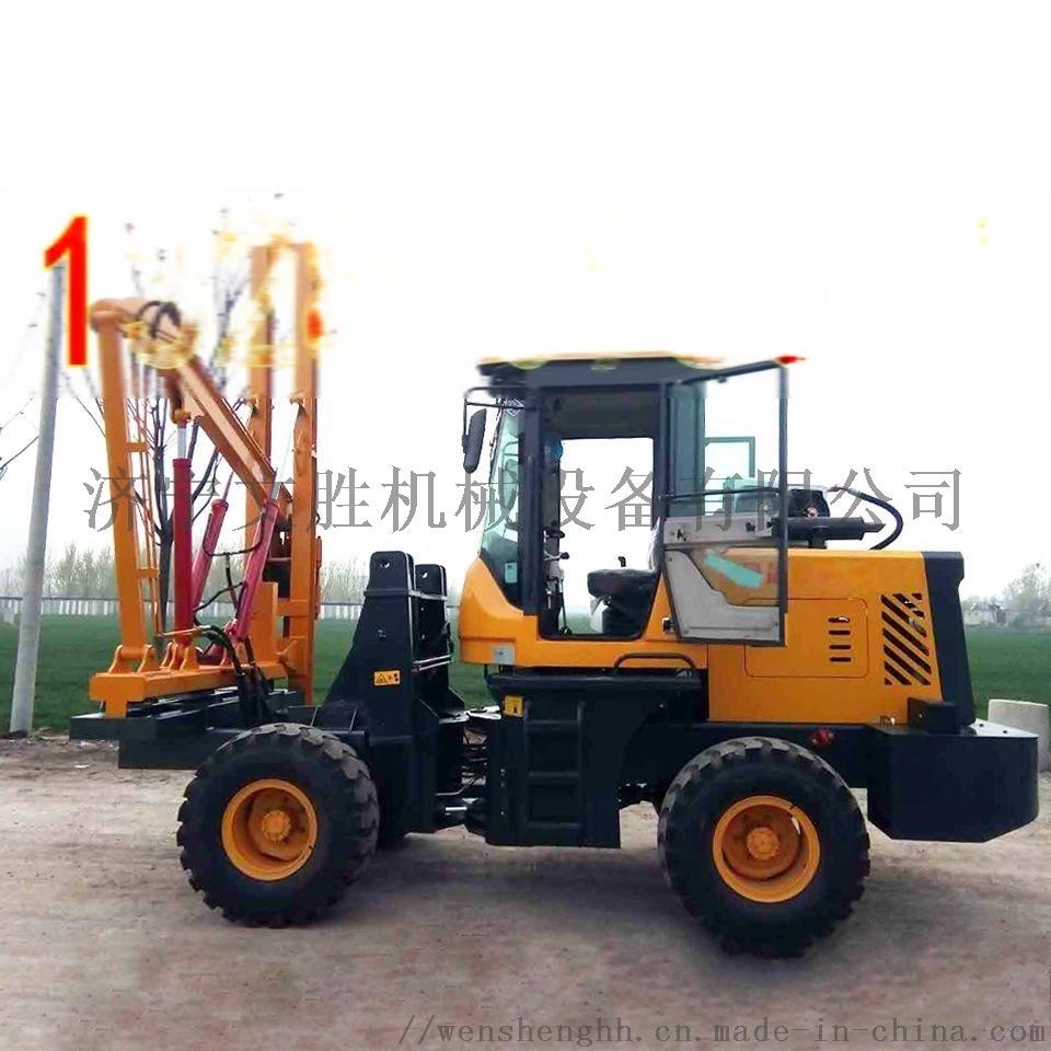 高速公路护栏打桩机 装载式打桩机厂家56762482